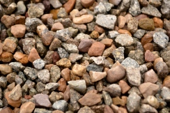 I have a thing for colorful pebbles...