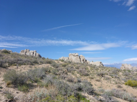 rocks in Bishop